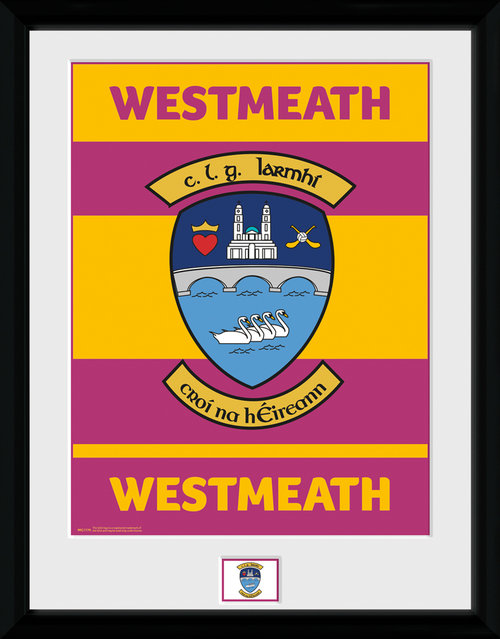 GAA Westmeath Framed Collector Print
