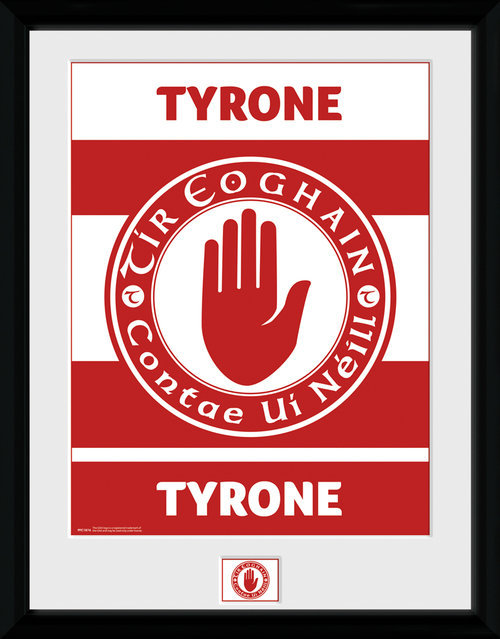 GAA Tyone Framed Collector Print