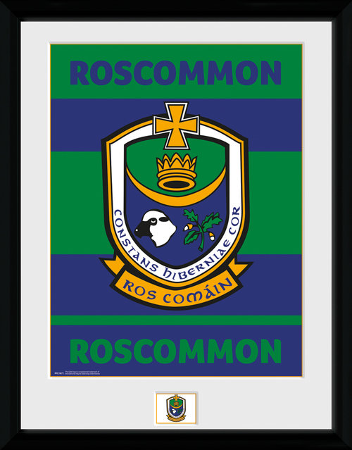 GAA Roscommon Framed Collector Print