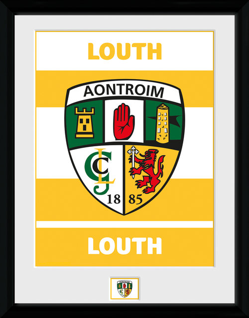 GAA Louth Framed Collector Print