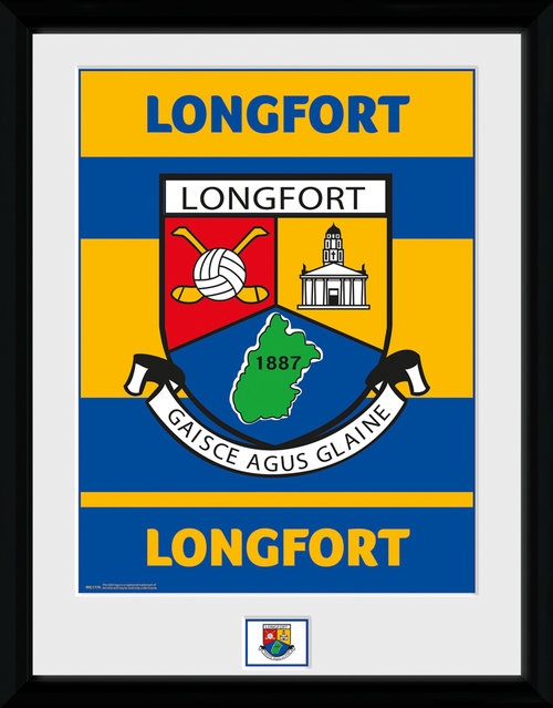GAA Longfort Framed Collector Print