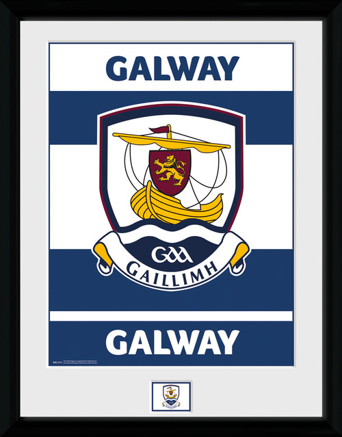 GAA Galway Framed Collector Print