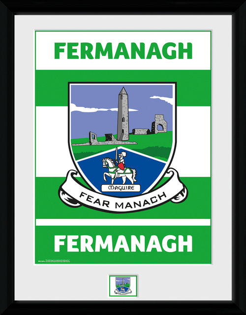 GAA Fermanagh Framed Collector Print