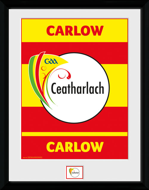 GAA Carlow Framed Collector Print