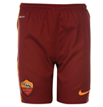 2015-2016 AS Roma Nike Away Shorts (Red)