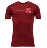 2015-2016 Barcelona Nike Neymar Replica Tee (Red)