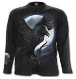 Night Creature - Longsleeve T-Shirt Black