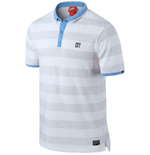 2015-2016 Man City Nike Covert Polo Shirt (White)