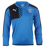 2015-2016 Rangers Puma Sweat Top (Blue) - Kids