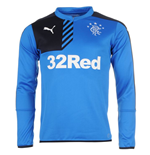 2015-2016 Rangers Puma Sweat Top (Blue)