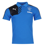 2015-2016 Rangers Puma Leisure Polo Shirt (Blue)