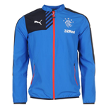 2015-2016 Rangers Puma Leisure Jacket (Blue)