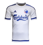 2015-2016 FC Copenhagen Adidas Home Football Shirt