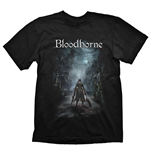 BLOODBORNE Night Street T-Shirt, Extra Large, Black