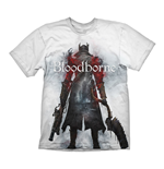 BLOODBORNE Hunter Street T-Shirt, Large, White