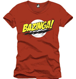 Big Bang Theory T-shirt - BAZINGA!