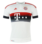 2015-2016 Bayern Munich Adidas Away Football Shirt