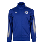 2015-2016 Chelsea Adidas 3S Track Top (Blue)