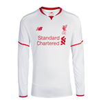 2015-2016 Liverpool Away Long Sleeve Shirt (Kids)