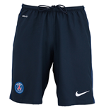 2015-2016 PSG Home Nike Football Shorts (Kids)