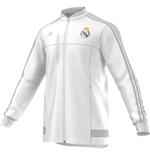 2015-2016 Real Madrid Adidas Anthem Jacket (White)