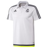 2015-2016 Real Madrid Adidas CL Polo Shirt (White)