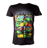 Ninja Turtles T-shirt - Bright Graffiti
