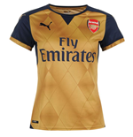 2015-2016 Arsenal Puma Away Ladies Shirt
