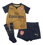 2015-2016 Arsenal Away Little Boys Mini Kit