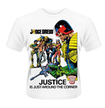2000AD T-shirt Judge Dredd - Justice