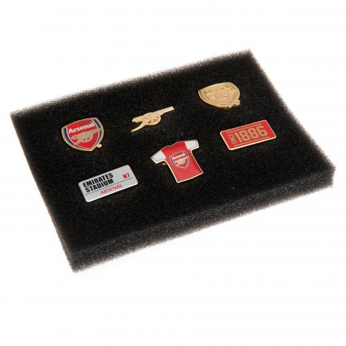 Arsenal F.C. 6 Piece Badge Set