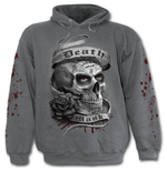 Death Mask - Hoody Charcoal