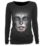 Death Mask - Baggy Top Black