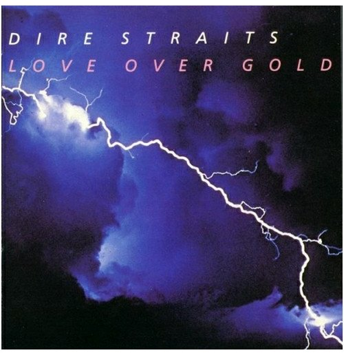 Vynil Dire Straits - Love Over Gold