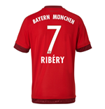 2015-16 Bayern Munich Home Shirt (Ribery 7) - Kids