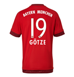 2015-16 Bayern Munich Home Shirt (Gotze 19) - Kids