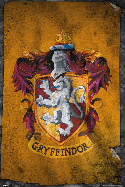 Harry Potter Gryffindor Flag Maxi Poster