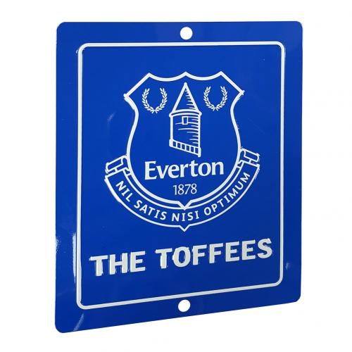 Everton F.C. Window Sign SQ