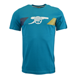 2015-2016 Arsenal Puma Cannon Fan Tee (Capri Breeze)