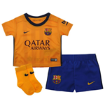 2015-2016 Barcelona Away Nike Baby Kit