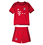 2015-2016 Bayern Munich Adidas Home Little Boys Mini Kit