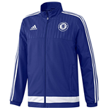 2015-2016 Chelsea Adidas Presentation Jacket (Blue)
