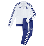 2015-2016 Chelsea Adidas Mini Presentation Tracksuit (White) - Infants