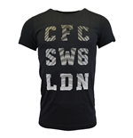 2015-2016 Chelsea Adidas Graphic Tee (Black)