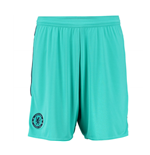 2015-2016 Chelsea Adidas Goalkeeper Shorts (Vivid Mint)