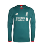 2015-2016 Liverpool Away Long Sleeve Goalkeeper Shirt (Green)