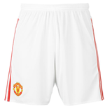 2015-2016 Man Utd Adidas Home Shorts (Kids)