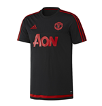 2015-2016 Man Utd Adidas Training Shirt (Black)