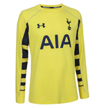 2015-2016 Tottenham Away Goalkeeper Shirt (Yellow)