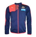2015-2016 Newcastle Puma Stadium Walkout Jacket (Peacot)